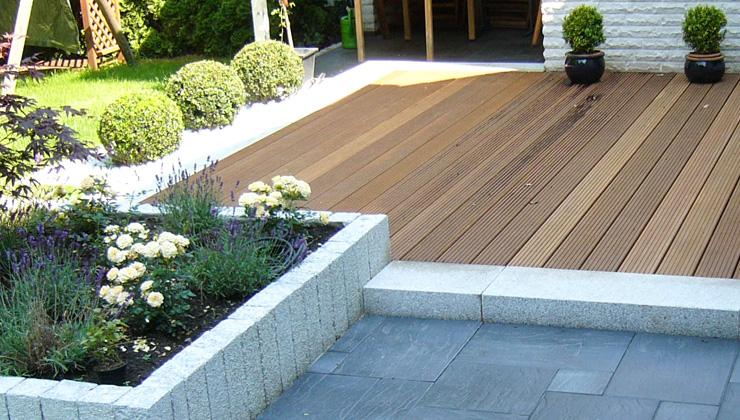 Holzarbeiten Zaunbau Deck Terrasse
