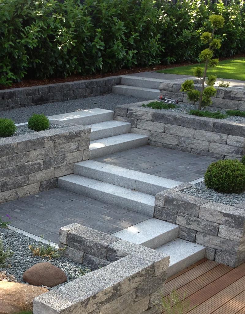 Treppen und Stufen anlegen